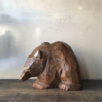 八雲の木彫りの熊|引間二郎(木歩)